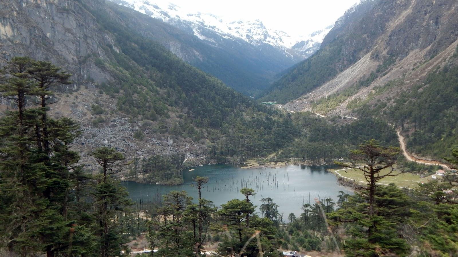 Madhuri lake top view