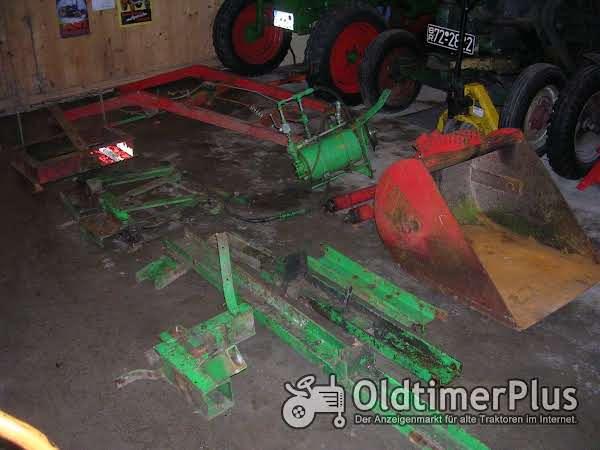 Deutz F1M414 F1L514 Frontlader komplett Foto 1