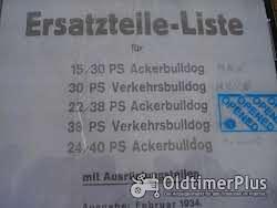 LANZ 15/30- 22/28 ersatzteilliste und Betriebsanleitung