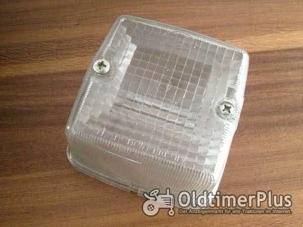 HELA Positionsleuchte weiß Lichtglas Foto 1