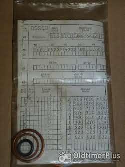 Holder A45 Dichtsatz zum Steuergerät Foto 2