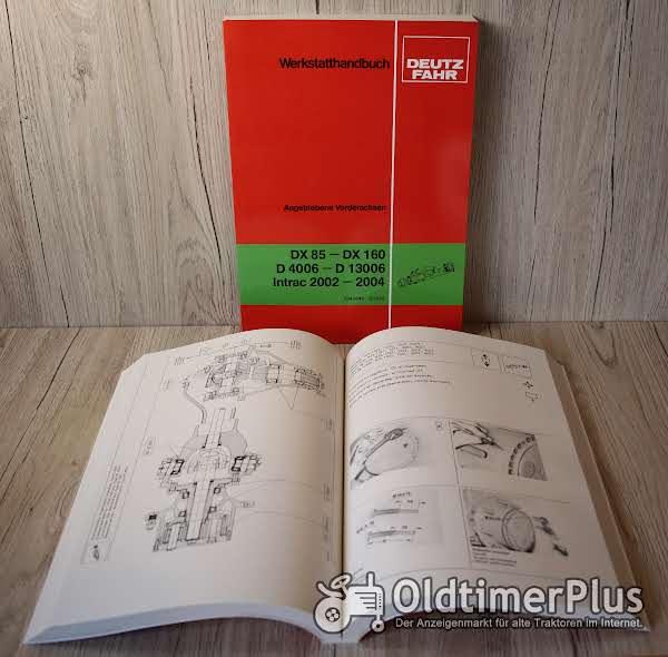 Deutz Werkstatthandbuch Angetriebene Vorderachsen DX85 - DX160 D4006 - D13006 Intrac 2002 - 2004 Foto 1