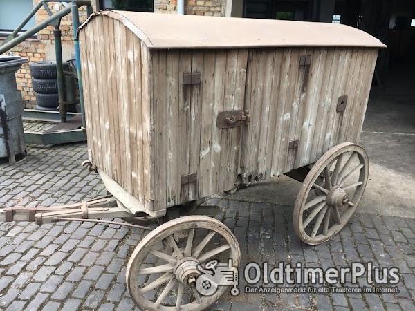 Dreschmaschinenantrieb, historisches Altertümchen Foto 1