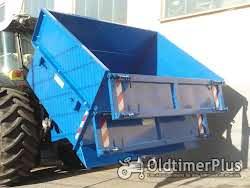 HEITEC Heckcontainer hydr. kippbar Kippschaufel Kippcontainer Heckschaufel Foto 5