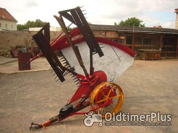 Krupp Getreidemäher ,Flügelmaschine, Getreideableger, Flügelmäher Foto 1