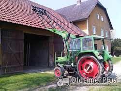Fendt Farmer 102LS Turbomatik mit Frontlader Foto 3