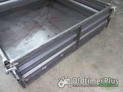 Unimog U403 U406 Pritsche mit geschlossenem Boden mit Kotflügel vorne und hinten Foto 3