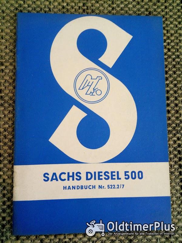Sachs Diesel 500 Handbuch Nr. 522.2/7 Foto 1
