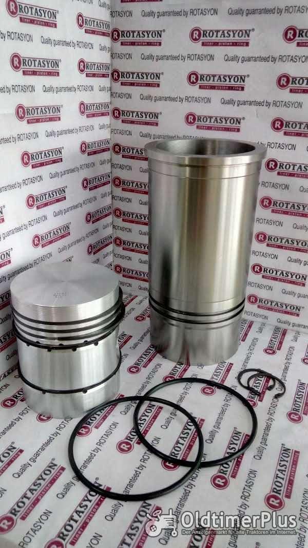 MWM Kolben+Laufbuchsen / Kit Set (Piston+Cylinder Liner + Piston Rings + Oring ) Foto 1