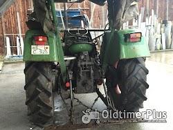 Fendt Farmer 4 S mit Frontlader Foto 2