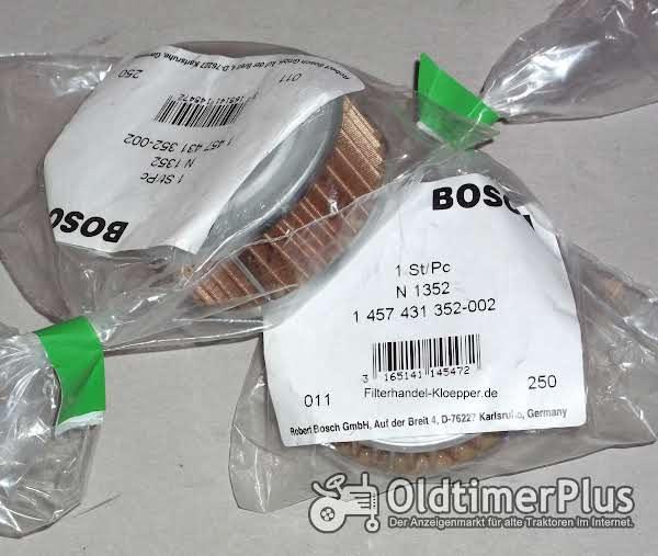 Deutz Oldies Hydraulikfiltersieb Bosch 1457431352 Foto 1