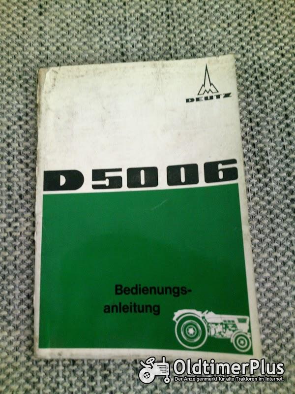Deutz D 5006 Bedienungsanleitung Foto 1