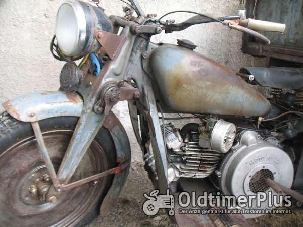 Moto Guzzi ercole, motocarro Foto 1