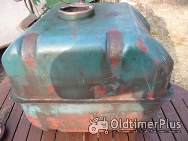 Hanomag Diesel Tank Foto 1