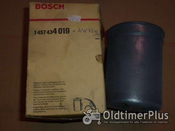 Bosch = Mann Dieselfilter Foto 1