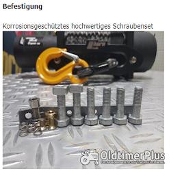 12 volt Seilwinde 5,9 to 2 Gänge | 7 PS Series Wound Motor Foto 3