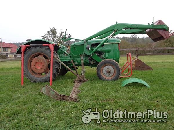 Deutz D40 S mit Frontlader Foto 1