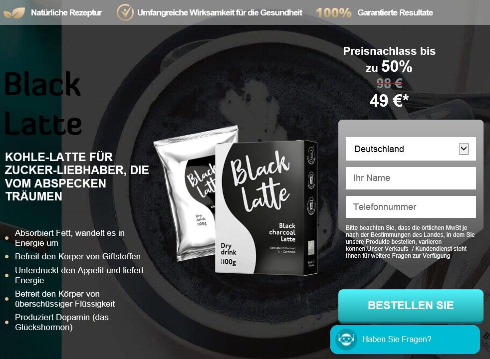 Wo kann man Black Latte kaufen?