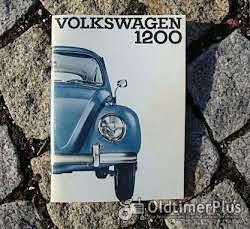 Betriebsanleitung VW 1200 Käfer Standard 1962 Foto 2