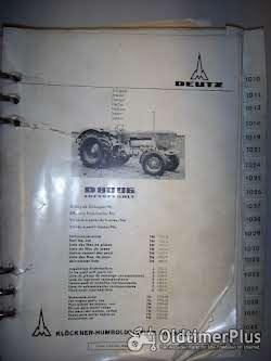Deutz-Motoren Teilnummerliste Foto 10