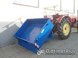 HEITEC Heckcontainer hydr. kippbar Kippschaufel Kippcontainer Heckschaufel Foto 2