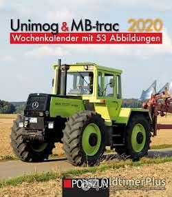 Fan-Artikel Unimog und MB-Trac Kalender und Bücher