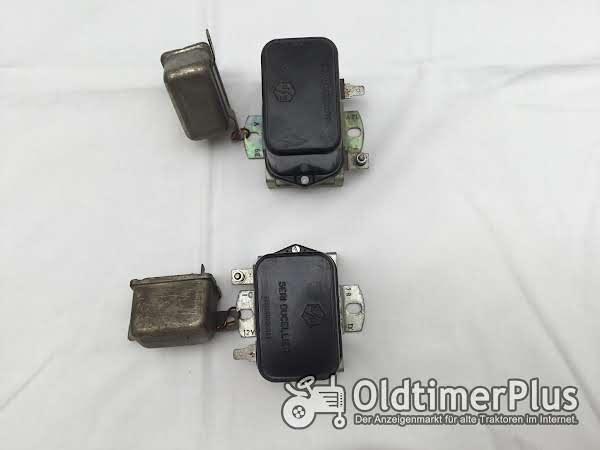 Zwei Lichtmaschinenregler mit Relais Foto 1