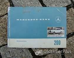 Betriebsanleitung Mercedes W111 220 SE 1963 Foto 3