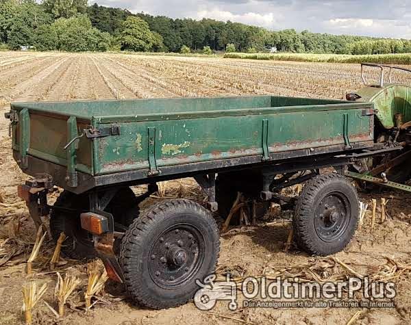 Multcar Anhänger Baujahr 1962 siehe Typschild Foto 1