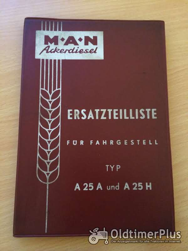 MAN Ackerdiesel A25 A und A25 H Foto 1
