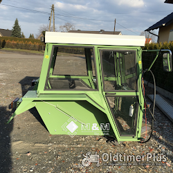 MM Universalkabine Traktorkabine Nr. 17b F106-108 für Traktor bis ca. 90PS Foto 7