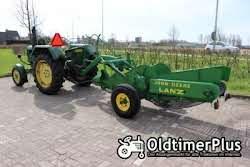 John Deere Lanz tractor D2816 & John Deere Lanz Potato digger Foto 2