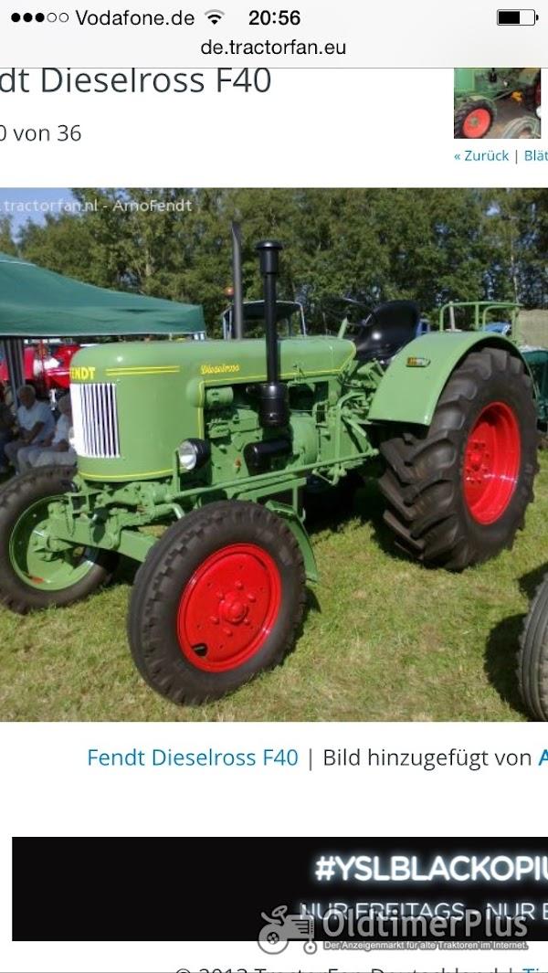 Fendt Suche F 40 Dieselross Foto 1