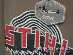 Emaile Tasse mit Stihl Logo Foto 6