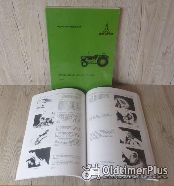 Deutz Werkstatthandbuch Traktor D 7506 D 8006 D 9006 D 10006 Foto 1