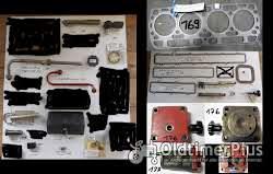 IHC Ersatzteile, Schlepperteile, Steuergerät, Sortiment E