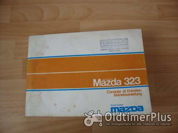 orig. Betriebsanleitung Mazda 323 1977 Foto 1