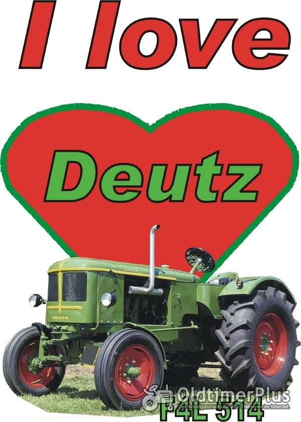 I love Deutz F4L 514 T-Shirt Foto 1