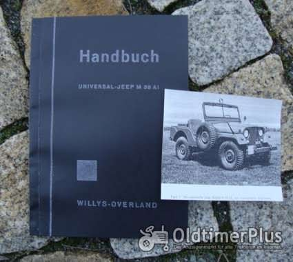 Betriebsanleitung Willys Overland Jeep CJ-3A M38AI 1958 Foto 1