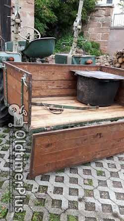 Bautz AS 120 mit Mähwerk und Transportkiste Foto 4