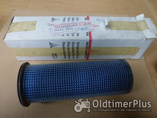 Deutz Trockenluftfilter Patrone für DX 04353066 Foto 1
