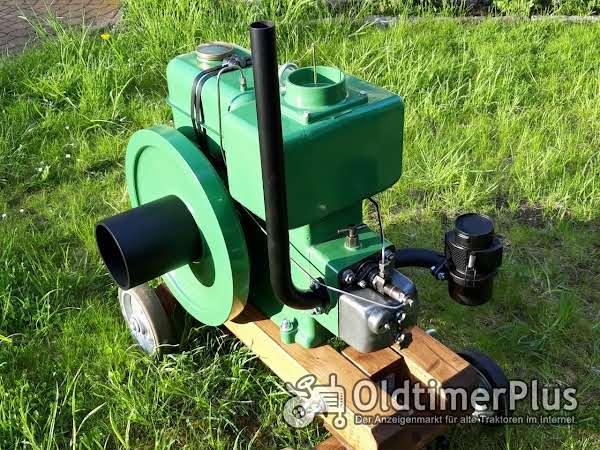 Motorenwerk Cunewalde 1H65 Stationärmotor Wasserverdampfer Foto 1