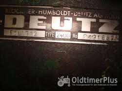 Deutz F1L 712 TYP 2400 Foto 2