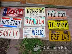 US Schilder Verkaufe vesch. zulassungsschilder der USA