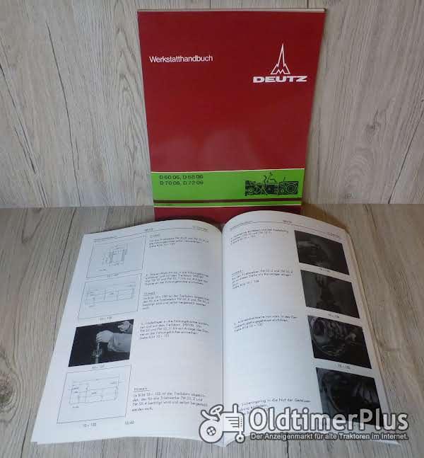 Deutz Werkstatthandbuch Getriebe TW55 D6005 - D6806 - D7206 - D6006 - D7006 Foto 1