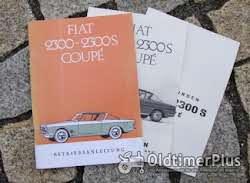 Literatur Betriebsanleitung Fiat 2300 / 2300 S Coupé 1966