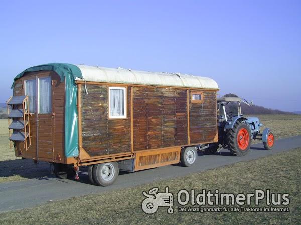 Schausteller Wohnwagen Foto 1