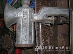 Werkzeug, Ersatzteile, Zubehör, hist. Haushaltsgeräte usw. Foto 3