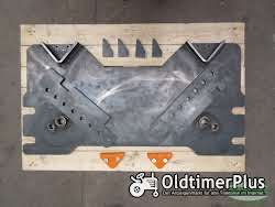 Wissmiller Kommunalplatte für Geräte der Kategorie 3 + 5 Anbauplatte Schneepflugplatte