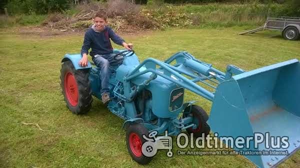 Eicher Smalspur Weinberg traktor Foto 1